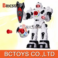 Newest remote control projectile robot intelligent robot toys for adults