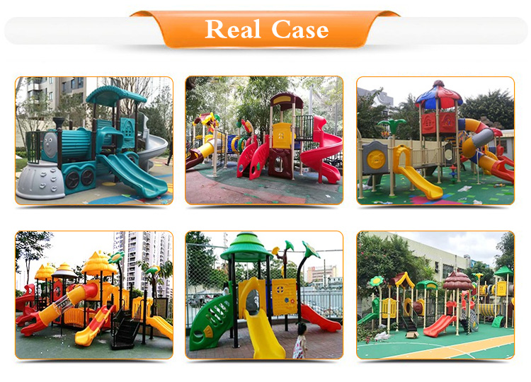 2019 Wholesale Reasonable Structure Anti-static Ocean Series Kids Outdoor Playground Slides