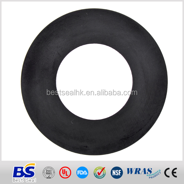 weathering resistant high quality and seal toilet bowl rubber gasket