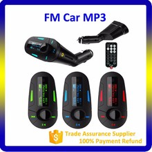 2018 618 Car MP3 Player Wireless FM Transmitter with USB SD MMC LCD