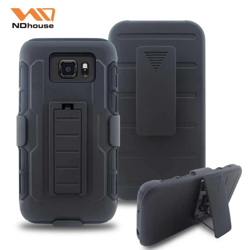 High quality robot combo case for samsung galaxy s7 active with new kickstand function