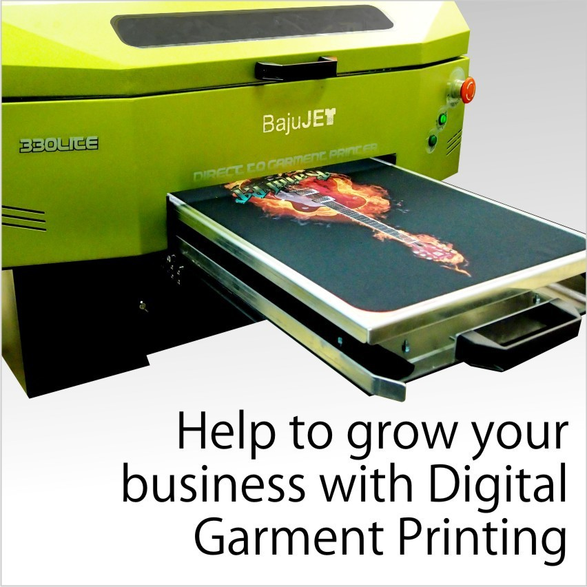 BajuJET DTG Printer , Direct to Garment Printer