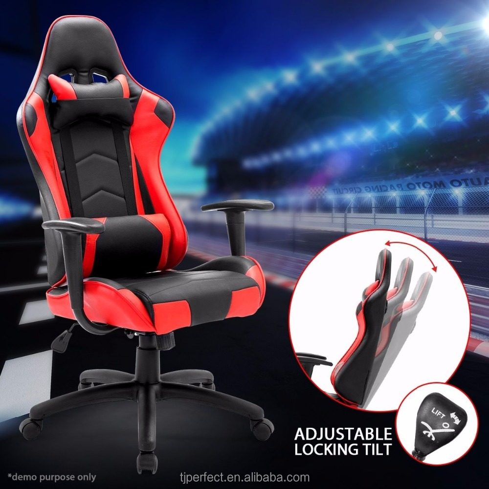 custom for computer gaming chairs, racing style swivel office chair
