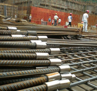 High Quality steel bar sleeve Carbon Steel Rebar Connection