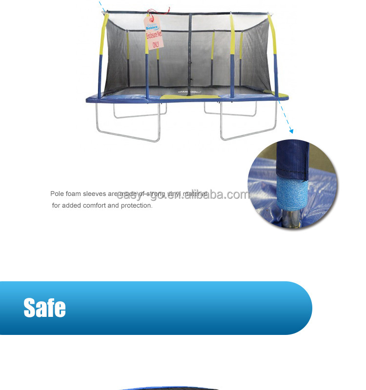 Easy Go10ft 17ft Cheap Rectangular Trampolines Hot On Sale