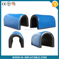 inflatable sport tunnel /inflatable football helmet tunnel/baseball inflatable sports tunnel