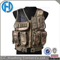 Multicam tactical army combat vest in stock