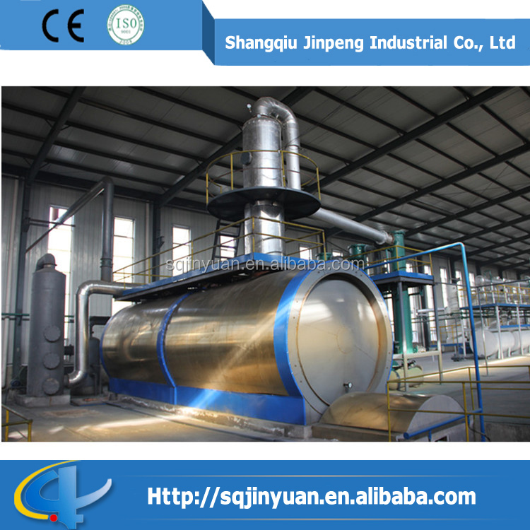 Waste Oil Pyrolysis Machine Waste Engine Oil Recycling Business Distillation Equipment Supplier