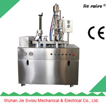perfume, cosmetic spray aerosol filling and sealing machine