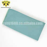 China wholesale microfiber 80% polyester and 20% polyamide glass cleaning towel