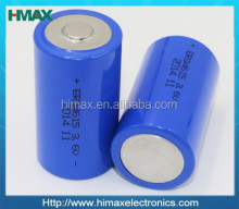 3.6v lithium battery 1/2aa er14250 3.6v 1200mah ER14250 battery cell