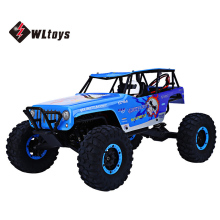 WLtoys 10428-A RC Cars 2.4GHz 1:10 Electric Wild Track Remote Control Trucks High Speed Four Wheels Drive Vehicle Racing Car