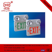 Factory Good Explosion proof led emergency lamp illuminated exit signs light with 3 hours emergency