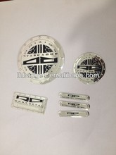 metal embossed label for door, metal furniture label, silver aluminum label.