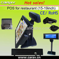 15 inch pos credit card terminal 4:3 diaplay pos
