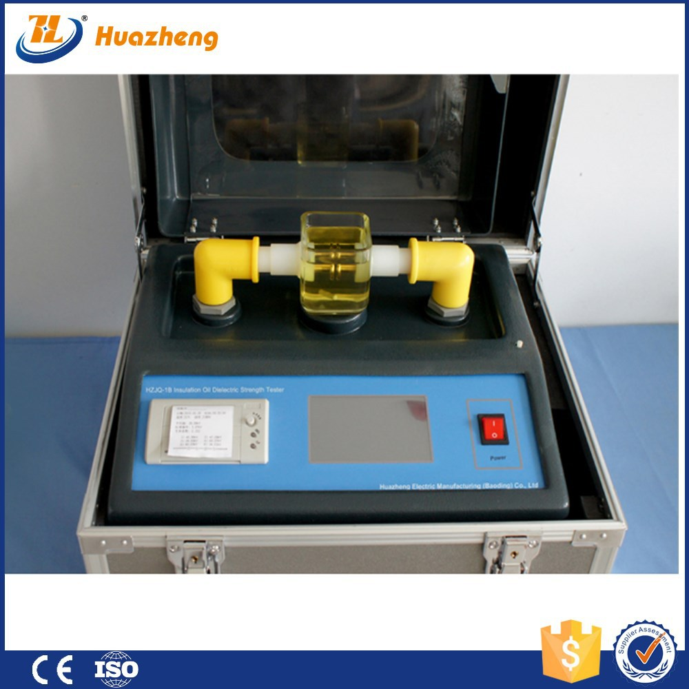 on site transformer oil bdv tester upto 100KV Insulating Oil test set