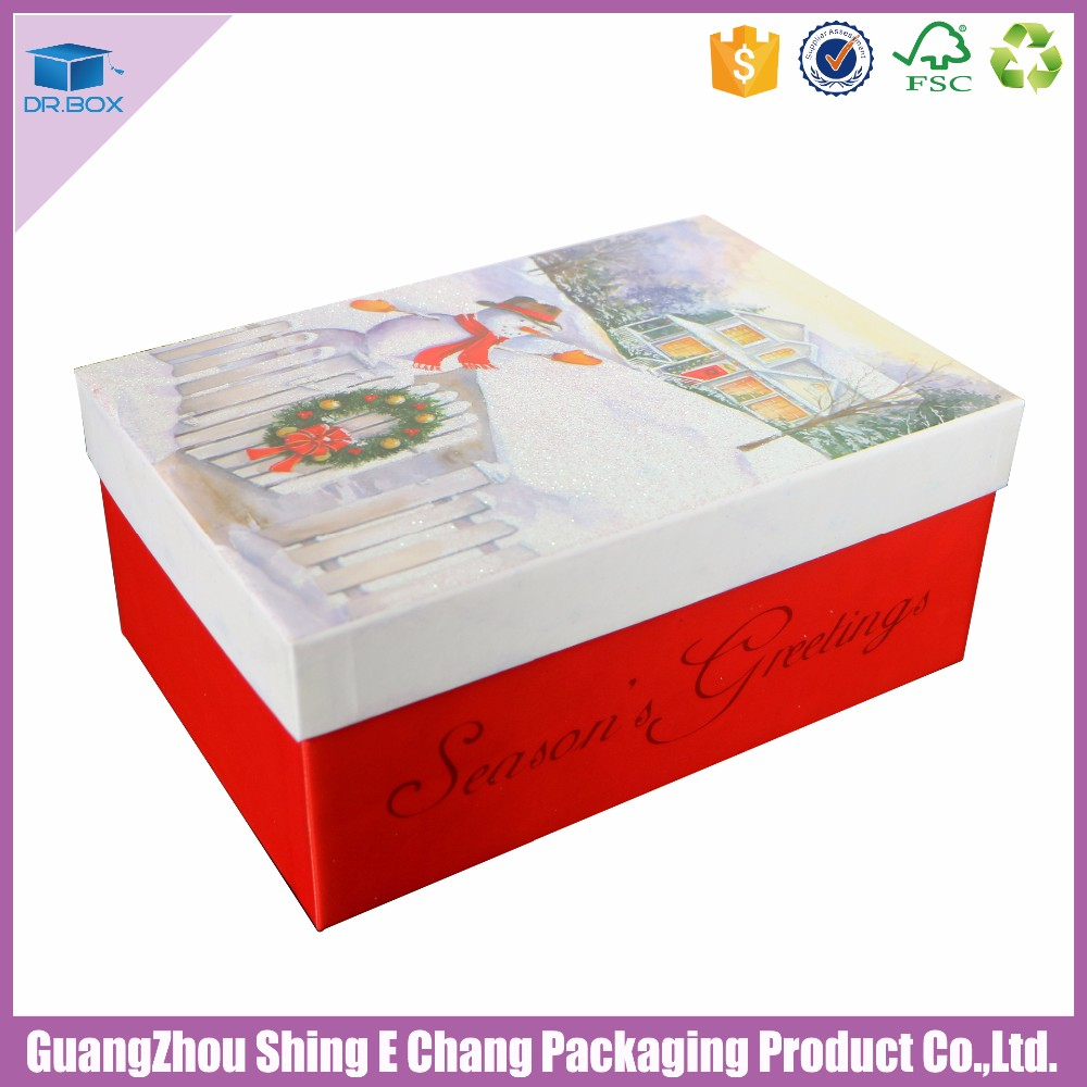 Alibaba China custom logo luxury paper decorative gift packaging box