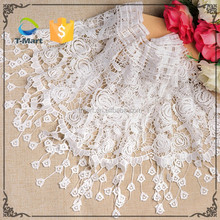 Factory Price Nylon Crochet Lace Lace Fabric embroidery patch for women