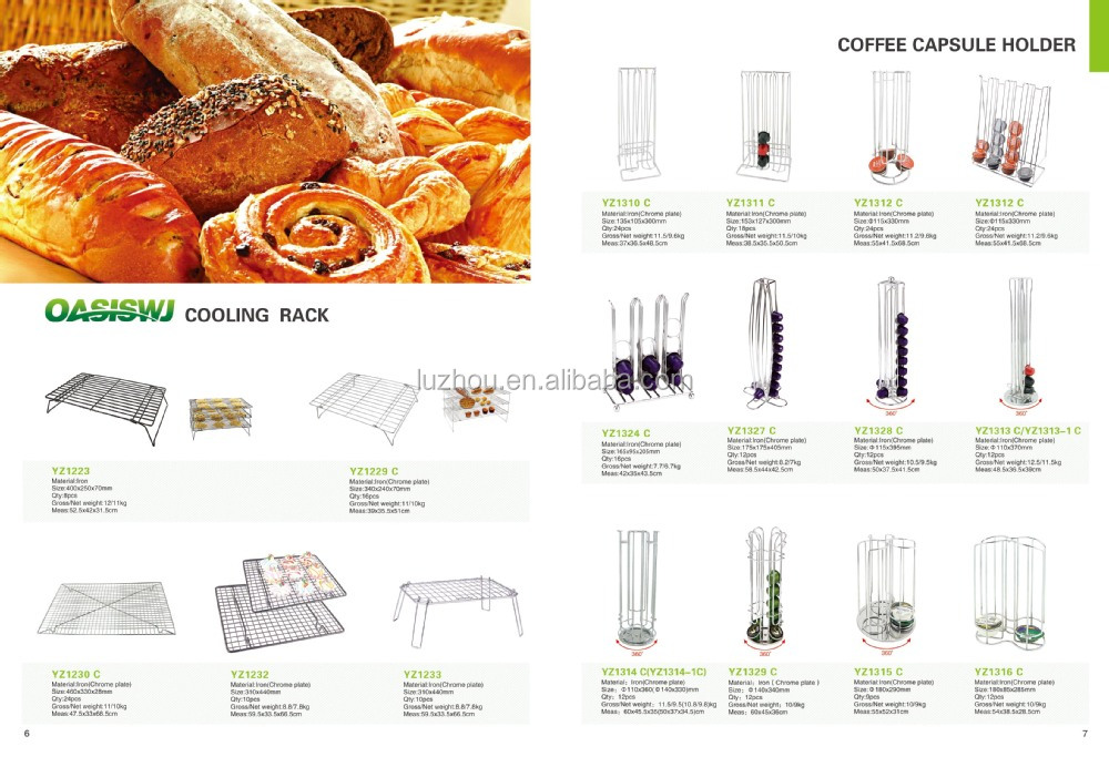 stainless steel Nespresso Coffee capsule holder,coffee pack rack,coffee pod holder