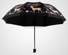 christmas manual 3 fold sun umbrella wholesale