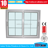 Reasonable price ISO9001,CE aluminum window/caster wheel for sliding windows