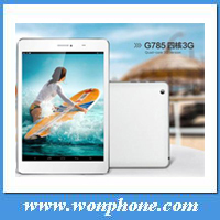 Newest 7.85 inch Sanei G785 3G Quad Core video call android gps MID tablet with bluetooth