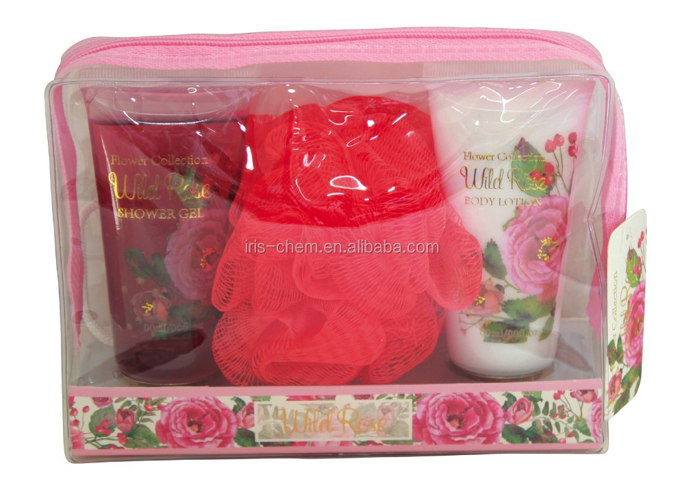 Rose soothing gel and lotion cosmetic