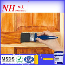 Durable low odor interior lacquer paint