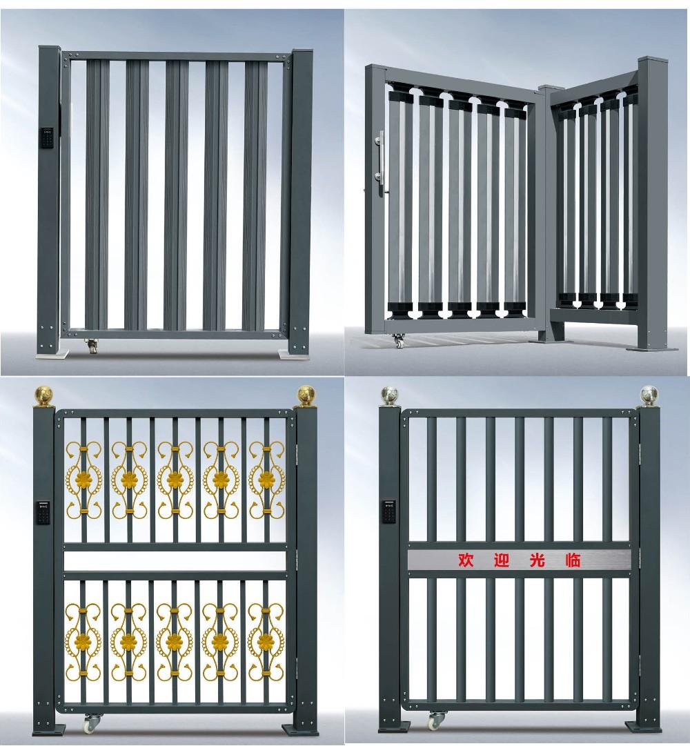 Industrial aluminum electric folding door accordion door for Aluminium folding doors