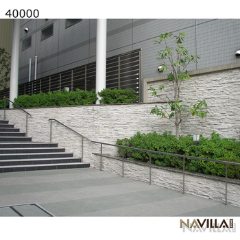 Navilla Manufactured Stone Veneer with multiple colors