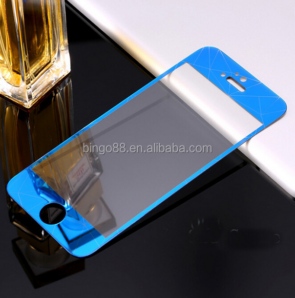 Anti-Static High Clear Mobile Phone Mirror effect tempered glass Screen Protector for Samsung A310/A510/A710