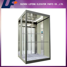 Lift carbin design/elevator cabin/passenger elevator stainless steel cabin decoration