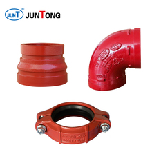 90 degree Elbow Ductile Iron Grooved Pipe Fittings