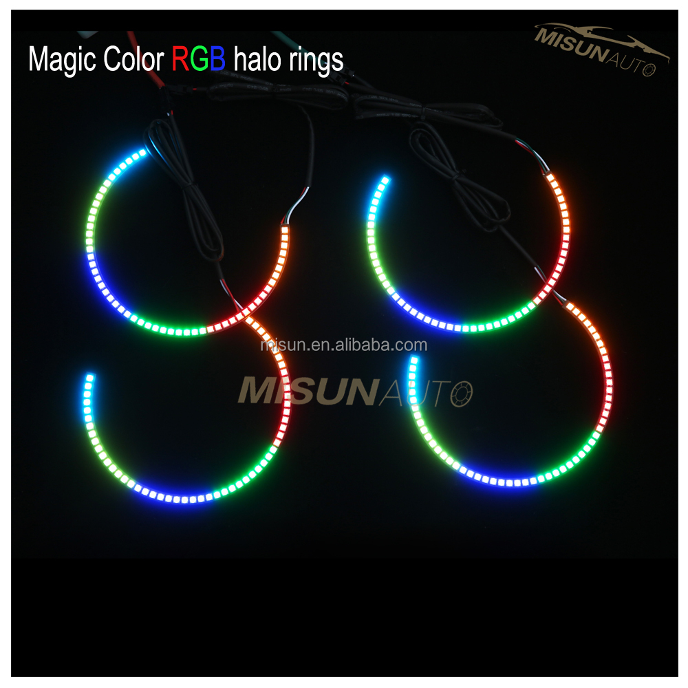 auto led light turn signal colored led halo kits for 2009-2014 challenger