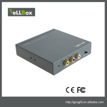 HDMI to AV Converter Digital HDMI to Analog Video and R/L Audio Support HDMI Resolution up to 1080p