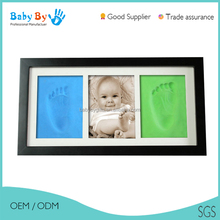 Chinese handmade wood first year baby picture frame