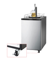 128L 170L High Quality Single Faucet and Double Tap Beer Cooler Tower Dispenser Fridge Beer Kegerator