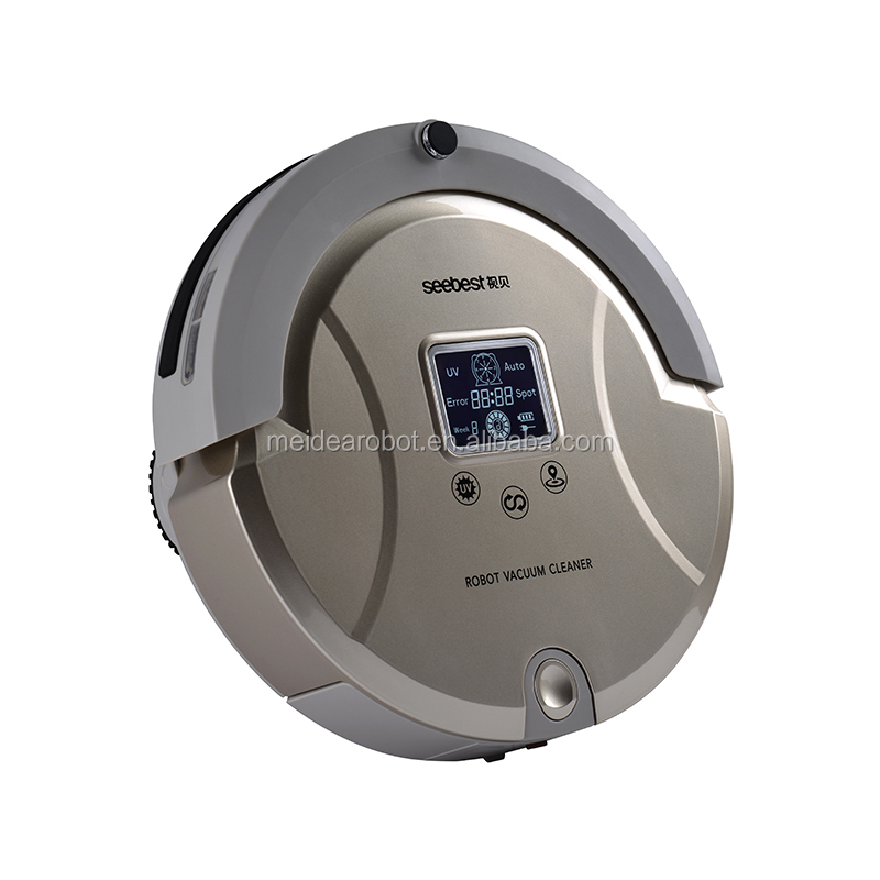 C561 Robot Vacuum Cleaner with Automatic Navigation and 2 Side Brushes, Best Robot Vacuum with Water Tank