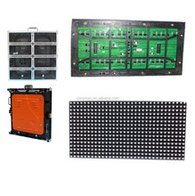 single color led display panel/P10 outdoor led modules dip346/factory price Water proof single color led screen module P10 led m