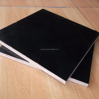 Birch Veneer Plywood 18mm Thick Black