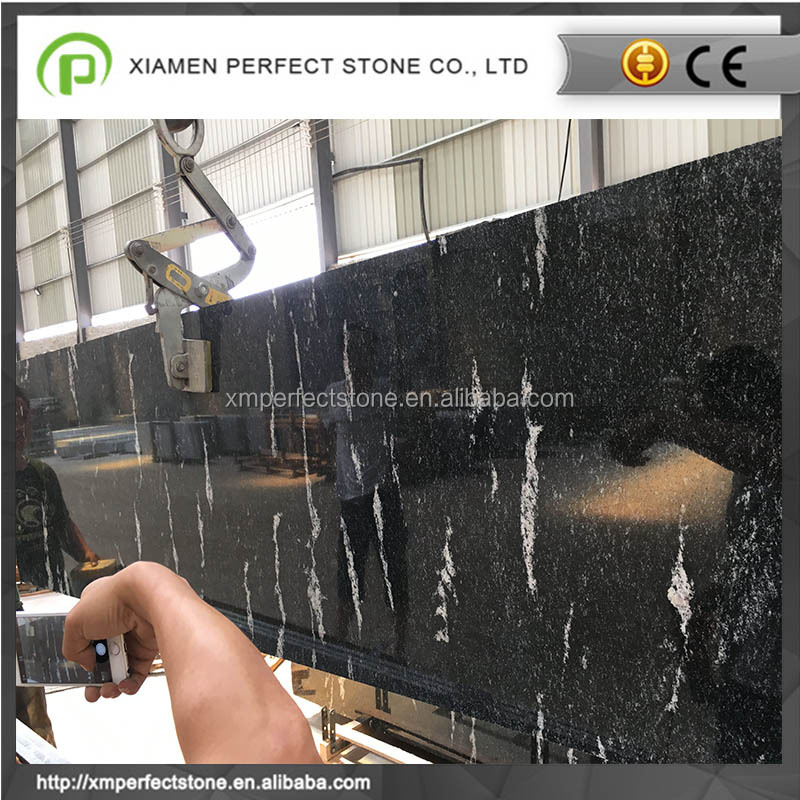 300x600x20mm snow grey granite flamed &polished tile wholesale