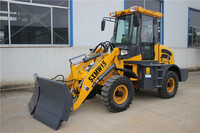Low price CE SXMW machine front end loader ZL12F with snow blade