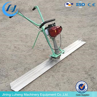Gasoline Good quality concrete vibration ruler,screed machine,road construction machinery