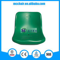 Virgo anti-aging HDPE bucket stadium plastic chair for for school,hall,conference,church,sports public events use