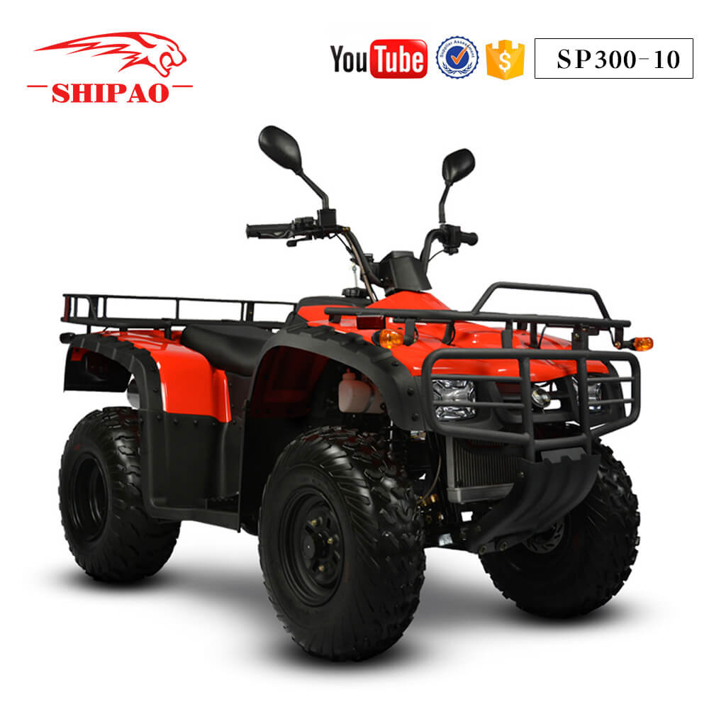 SP300-10 Shipao Rental business shaft drive atv 300cc jinling quad
