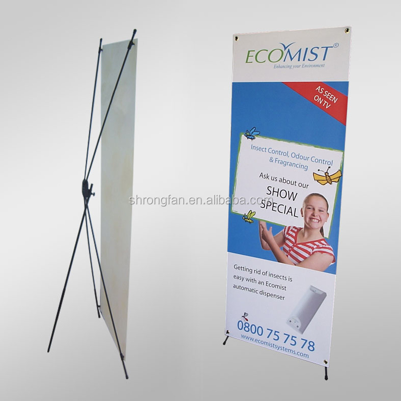 X Banner Stand Display Poster Stands X Banner Stand 80 x 180 cm For Wholesale