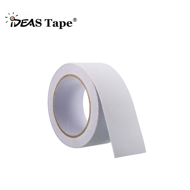 IDEAS CLEAR Rubberized Anti Slip Safety Tape Non Skid Stair Step Grip Boat