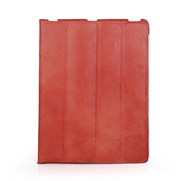 Fashion red flip cover tablet case for ipad air