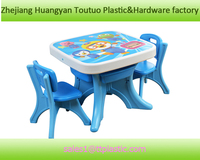 lovely plastic study desk and chairs,interesting children table B-X001