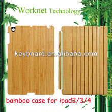 Top hot selling for bamboo ipad smart cover